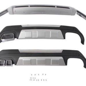 Ốp Cản Chống Đá Văng Hyundai Santafe 2019 (Mẫu 4 - Máy Xăng)