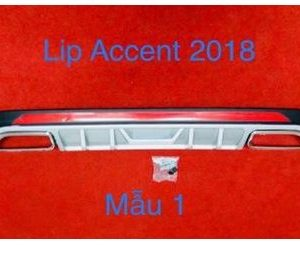 Body Lip Hyundai Accent 2018