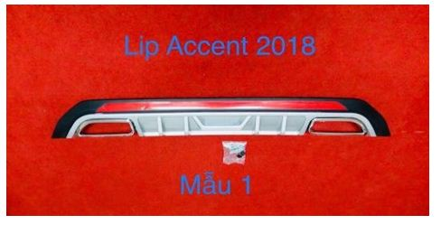 Body Lip Hyundai Accent 2018