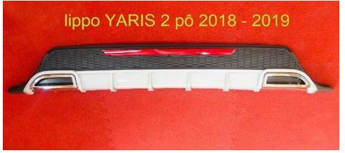 Body Lip Toyota Yaris 2018-2019 (Mẫu 2)